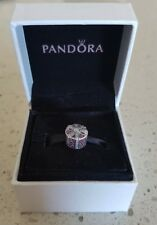 Pandora New Genuine Red Shimmering Gift Charm #792006CZR - RRP $99.00
