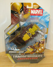 Transformers Marvel Comics Crossovers ~ Wolverine Rally Truck ~ Vehicle to Hero