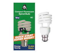 1x 5 W Daylight Quick Start Basse Énergie CFL SAD 5600K lumière blanche Ampoules BC B22
