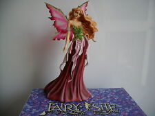 STUNNING FAIRY SITE FAERIE SPRING QUEEN  BY AMY BROWN NEW &  BOXED