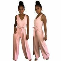 Clubwear Sexy Womens Trousers Cocktail Playsuit Party Bodysuit Pants Ladies
