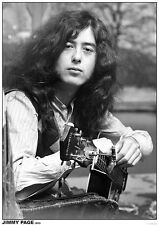 LED ZEPPELIN POSTER JIMMY PAGE 1970