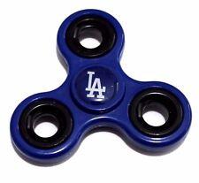 LOS ANGELES DODGERS BLUE  HAND SPINNER TRI FIDGET STEEL BALL EDC TOY KIDS ADULT
