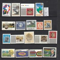 LOT STAMPS CANADA MNH**  (L25488)