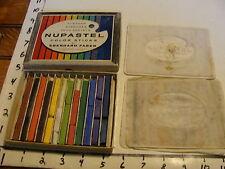 Vintage Pastel Set: Nupastel color sticks Eberhard Faber