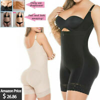 Fajate&Fajas Colombian Latex Body Shaper Levanta Cola Post Parto Surgery Girdle