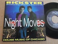 """DISQUE 45T DE RICKSTER  """" NIGHT MOVES """""""