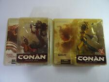 McFarlane Toys Belit vs Fire Dragon Series 1 Set