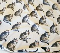 Kliban the Cat Set of Full Double Bed Sheets Flat Fitted Kliban Kiss Vintage