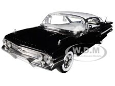 "1960 CHEVROLET IMPALA BLACK ""SHOWROOM FLOOR"" 1/24 DIECAST MODEL CAR JADA 98901"