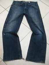 Mens GUESS JEANS CLIFF BOOTCUT size W 36 L 33 32 31 distressed relaxed fit