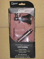 Danze D441630RB Bannockburn Toilet Paper Holder, Oil Rubbed Bronze NEW in Box