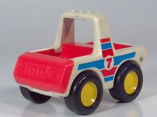 Vintage 1980s Plastic Tonka Bandai Toy Truck Race Car