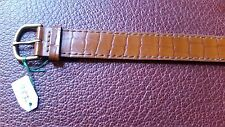 WATCH BAND BRACELET MONTRE  CUIR***** KOOKAI***********  MARRON* 18mm***REF OK35