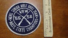 VINTAGE MENS SR RIFLE DRILL TEAM V.F.W. MASS STATE CHAMPIONS 1956 BX 11 #22