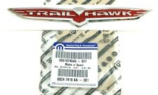 15-20 Jeep Renegade Trailhawk rear liftgate chrome red Nameplate Emblem new OEM