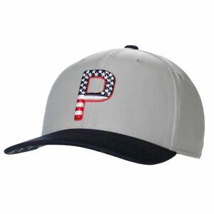 NEW Puma Golf Pars & Stripes USA 110 Snapback Golf Hat Cap - Choose Color!
