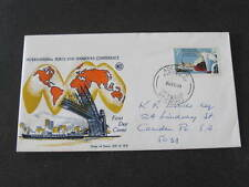 International Ports & Harbours Australia Fdc Fdi First Day of Issue Stamp Cover