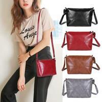 Fashion Women's Shoulder Bags Messenger Packs PU Leather Crossbody Handbag Purse