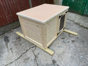 indoor dog kennel flat pack delivery included depending on post code