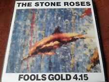 "THE STONE ROSES  FOOLS GOLD 4.15 (1989) 7"" VINYL + PRINT SILVERTONE"