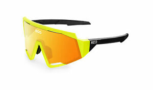 KOO Cycling Sunglasses- SPECTRO-Yellow Fluo