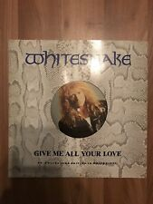 Whitesnake Give me all your Love White Vinyl Maxi Single -TOP TOP TOP