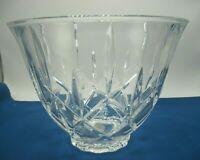 Gorham Lady Anne Czech. Crystal Punch Bowl in Original Box NO LADLE