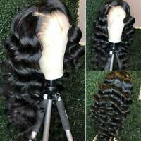 Loose Body Wave Lace Front Wig 100% Malaysian Virgin Human Hair Wig Unprocessed
