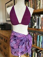 Very sexy, 3 Piece Size 14 Sarong and Bikini Top and Bottoms. J TAYLOR/ NEXT