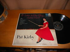 Pat Kirby 50s POP FEMALE VOCAL JAZZ LP What is This Thing Called Love USA ISSUE