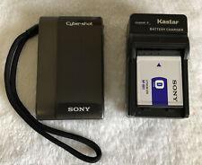 Sony Cyber-shot DSC-TX1 10.2MP Digital Camera - Gray~~Excellent ~~