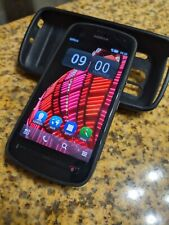 Nokia 808 PureView BLACK 16GB Unlocked Smartphone 41MP Carl Zeiss Camera
