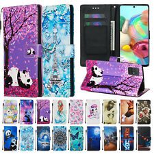 Leather Flip Wallet Shockproof Case Cover For Samsung Galaxy A51/A71 4G/A01/A11