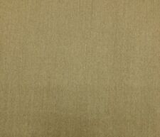 MOCHA DARK TAN SLUB WOOL HEAVY W/ LATEX BACKING UPHOLSTERY FABRIC BY THE YARD