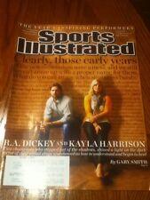 R.A. Dickey & Kayla Harrison Toronto Blue Jays Sports Illustrated 2012