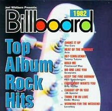 Billboard Top Album Rock Hits 1982