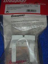 new GRAUPNER 1302 SUPPORT de MOTEUR engine mount PLASTIC Motorträger di MOTORI