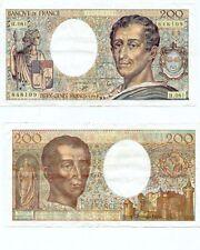 Gertbrolen  200 Francs MONTESQUIEU  de 1990  H.081