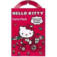 Hello Kitty Kids Fun Time actividad llevar Play Pack Para Niños Cartel pegatinas