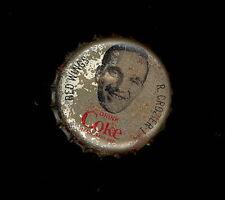 1964 65 COCA-COLA COKE BOTTLE CAP WITH CORK ROGER CROZIER DETROIT RED WINGS