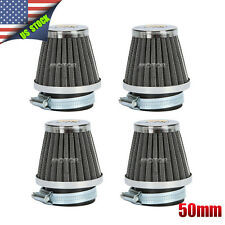 4pcs 50mm Air Filters Pod For Honda 1980-1982 CB750F SUPERSPORT 1981 US