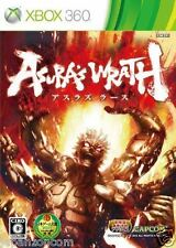 Used Xbox 360 Asura's Wrath Capcom MICROSOFT JAPAN JP JAPANESE JAPONAIS IMPORT