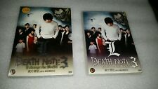 Death Note 3 L' Change  The World (DVD)