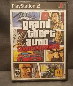 Grand Theft Auto: Liberty City Stories (Sony PlayStation 2, 2006) PS2 Video Game