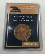 Carolina Panthers Ericsson Stadium 1998 Season Opener Souvenir Coin