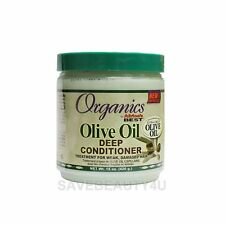 1Pc Organics by Africa's Best Olive Oil Deep Conditioner for Damaged Hair 15oz