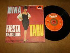 MINA - FIESTA BRASILIANA - TABU  - 45 PS / LISTEN - SUNG IN GERMAN