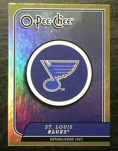 2008-09 08/09 O-Pee-Chee GOLD FOIL Team Checklist CL26 St. Louis Blues