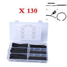 130PCS Heat Shrink Tubing Insulation Shrinkable Tube 2:1 Wire Cable Sleeve Kit